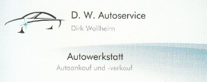 D.W. Autoservice in Zeven Logo